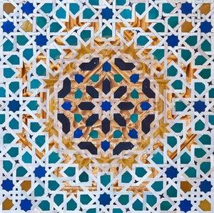 Alhambra Tile Study XII                               © Karen Strom