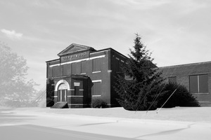 """City School, Jeffersonville, Indiana""     © Wendel White"