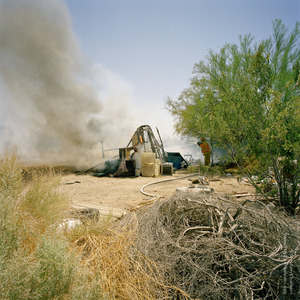 Arson (attempted murder), from the series, Transience © Stephen Chalmers