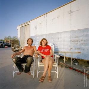 Darla Jones (48) + Jerry Jones (55), from the series, Transience © Stephen Chalmers