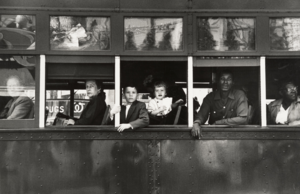 Trolly – New Orleans, 1955. From The Americans