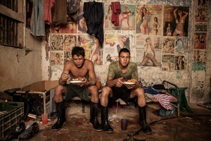 Image of miners who work in the Gold Fields Abangares gold mine of Guanacaste, Costa Rica © Guillermo Barquero, Costa Rica. Shortlist, People, Open Competition. 2014 Sony World Photography Awards