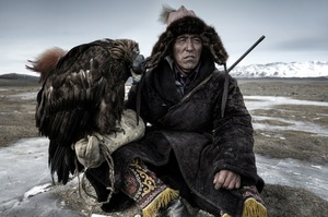 A hunter rests in his little house on the plains in Western Mongolia © Simon Morris, United Kingdom. Shortlist, Travel, Open Competition. 2014 Sony World Photography Awards