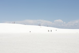 13 people - white sands, new mexico