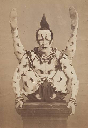Unknown (Possibly Crichton, Edward B.), Harlequin, ca. 1870. Courtesy Fraenkel Gallery, San Francisco
