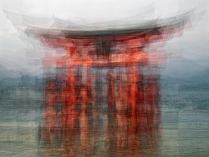 The Floating Torii © Pep Ventosa