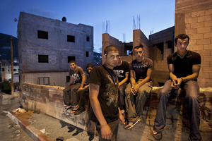"Jehad with Friends From the series ""Eighteen"" © Natan Dvir"