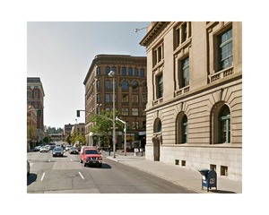 Lincoln Street and Riverside Street, Spokane, Washington     © Pep Ventosa