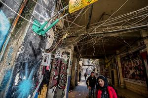 Near Shatila mosque. 2012 © Gloriann Liu
