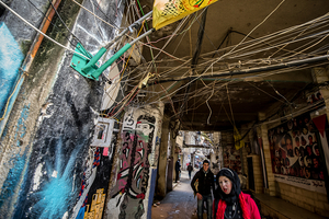 Near Shatila mosque. 2012 © Gloriann Liu