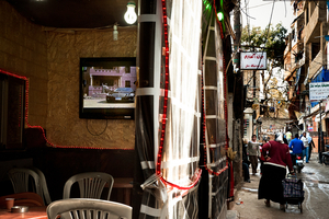 Omar Cafe, Ariha Street. 2012 © Gloriann Liu