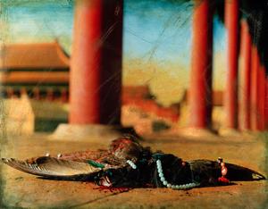 © HONG Lei, Autumn in the Forbidden City, Taihe Palace East Corridor, 1996Courtesy Three Shadows Photography Centre, Beijing