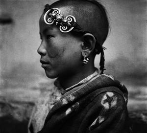 © ZHUANG Xueben (1909-1984), Tibetan Boy, Xia He County, Gansu Province, 1936Courtesy of ZHUANG Wenjun