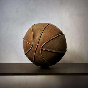 Leather Basketball