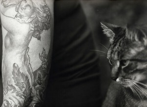 Tattoo and Cat