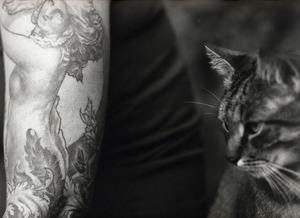 Tattoo and Cat