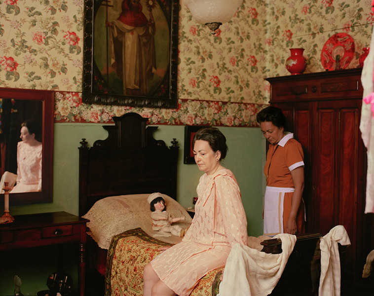 2nd Prize, Lens Culture International Exposure Awards 2011, Portfolio Category En el cuarto de la nina, from the series Casa de Mujeres © Rachelle Mozman