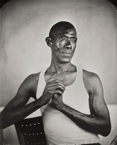 """""""Kevin."""" 8x10""""  Wet-plate collodion tintype. © 2010 Keliy Anderson-Staley"""