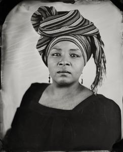 """LaTasha."" 8x10""  Wet-plate collodion tintype. © 2008 Keliy Anderson-Staley"