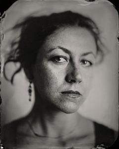 """Asya."" 5x7""  Wet-plate collodion tintype. © 2008 Keliy Anderson-Staley"