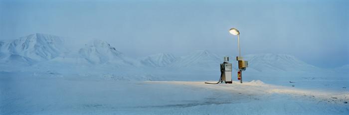 Barentsburg :  Petrol Pump