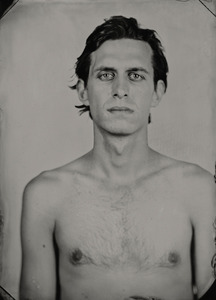 """Jon."" 8x10""  Wet-plate collodion tintype. © 2011 Keliy Anderson-Staley"