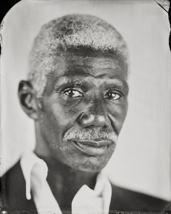 """""""Alamin."""" 5x7""""  Wet-plate collodion tintype. © 2010 Keliy Anderson-Staley"""