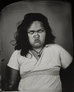 """Kaeley."" 8x10""  Wet-plate collodion tintype. © 2010 Keliy Anderson-Staley"