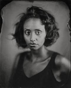 """Helen.""  8x10"" Wet-plate collodion tintype. © 2008 Keliy Anderson-Staley"