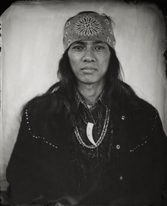 """Masahiro."" 8x10""  Wet-plate collodion tintype. © 2008 Keliy Anderson-Staley"