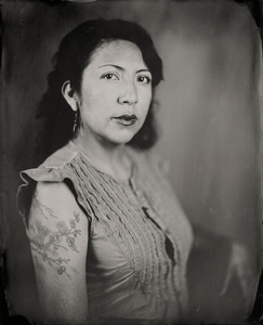 """""""Dulce."""" 8x10""""  Wet-plate collodion tintype. © 2009 Keliy Anderson-Staley"""