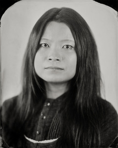 """""""Dona."""" 8x10""""  Wet-plate collodion tintype. © 2012 Keliy Anderson-Staley"""