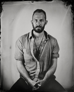 """Mikael."" 8x10""  Wet-plate collodion tintype. © 2007 Keliy Anderson-Staley"
