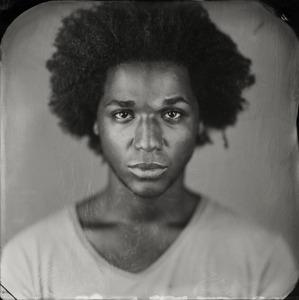 """Terrance."" 7x7""  Wet-plate collodion tintype. © 2011 Keliy Anderson-Staley"