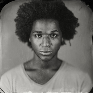"""Terrance."" 7x7""  Wet-plate collodion tintype. © 2011 Keliy Anderson-Staley"