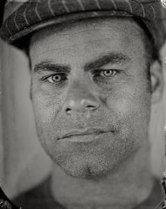 """Thomas."" 5x7""  Wet-plate collodion tintype. © 2008 Keliy Anderson-Staley"