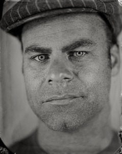 """Thomas."" 5x7""  Wet-plate collodion tintype. © 2008 Keliy Anderson-Staley"