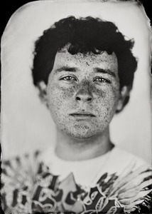 """""""Nathan."""" 8x10""""  Wet-plate collodion tintype. © 2011 Keliy Anderson-Staley"""