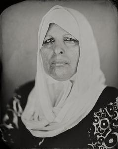 """Kafi."" 8x10"" Wet-plate collodion tintype. © 2011 Keliy Anderson-Staley"