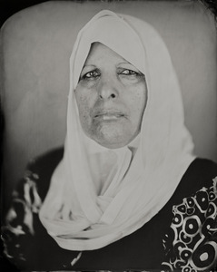 """Kafi."" 8x10"" Wet-plate collodion tintype. © 2011 Keliy Anderson-Staley"