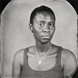 """""""Alexis."""" 7x7""""  Wet-plate collodion tintype. © 2012 Keliy Anderson-Staley"""