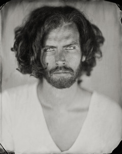 """""""Jeremy."""" 8x10""""  Wet-plate collodion tintype. © 2011 Keliy Anderson-Staley"""