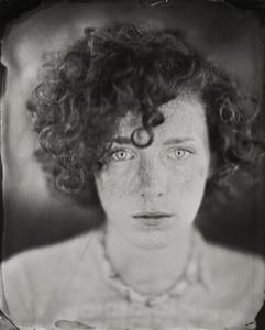"""Erica."" 8x10""  Wet-plate collodion tintype. © 2010 Keliy Anderson-Staley"