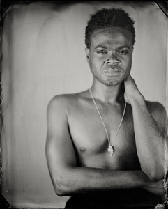 """""""Jenowade."""" 8x10""""  Wet-plate collodion tintype. © 2008 Keliy Anderson-Staley"""