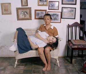2nd Prize, Lens Culture International Exposure Awards 2011, Portfolio Category El abrazo, from the series Casa de Mujeres © Rachelle Mozman