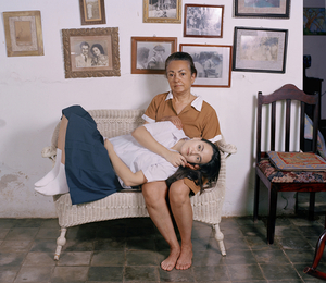 2nd Prize, Lens Culture International Exposure Awards 2011, Portfolio Category El abrazo, from the series Casa de Mujeres © Rachelle Mozman