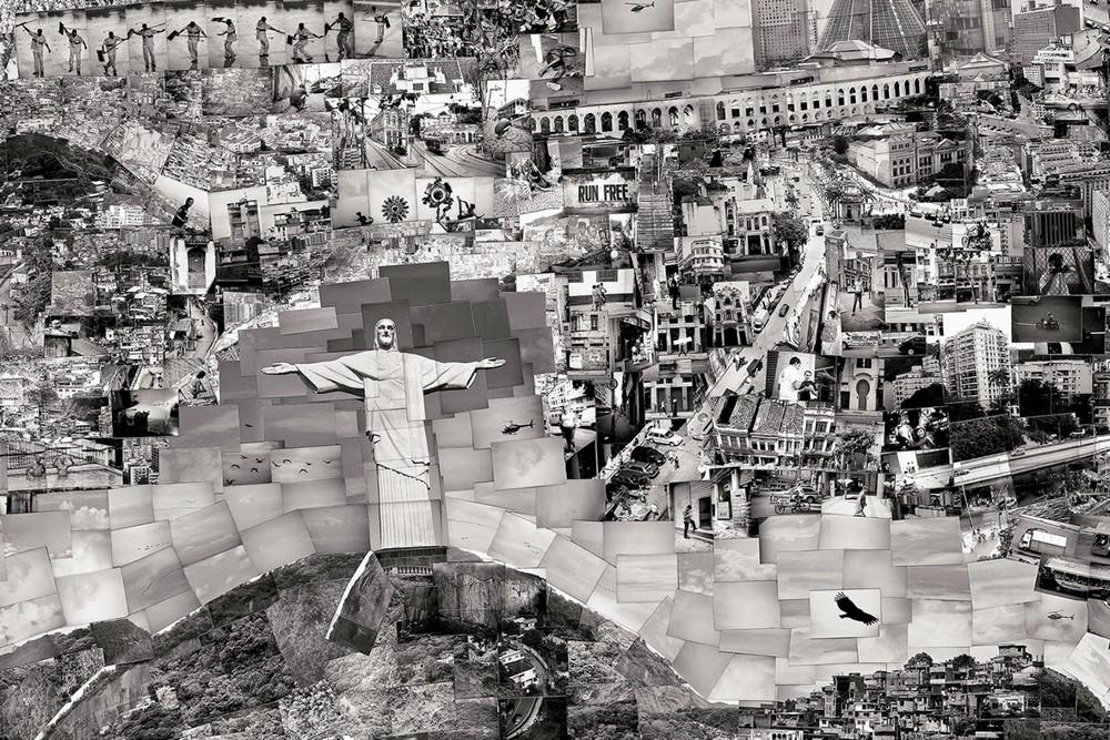 Rio de Janeiro (detail) Diorama Map © Sohei Nishino/Courtesy of Michael Hoppen Contemporary
