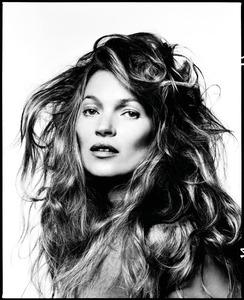Kate Moss by David Bailey, 2013 © David Bailey