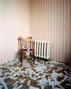 """The Department of Economy, from the series """"The Place of No Roads"""" © Ville Lenkkeri"""