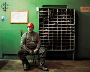 "Between an Eight-Hour Shift of Mining Coal, from the series ""The Place of No Roads"" © Ville Lenkkeri"